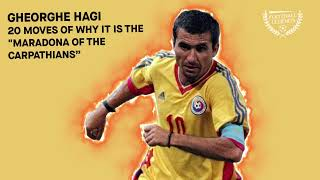 Gheorghe HAGI - 20 Moves of why is the \Maradona of the Carpathians