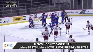 Men's Hockey East Final: UMass Beats UMass Lowell For First-Ever Title
