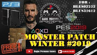 Pes 2019 PS3 Monster Patch Winter Transfer 18-19 AIO [ LINK ]