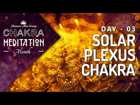 CHAKRA SLEEP MEDITATION MUSIC | SOLAR PLEXUS CHAKRA Meditation Balancing & Healing | CMM - DAY 03