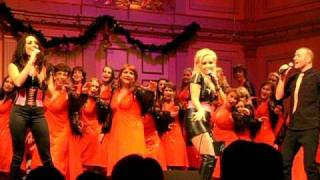 Alcazar - All I Want For Christmas Is You (Live Nybrokajen 11, 5/12/2010)