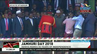 Jamhuri Day celebrations: President Kenyatta greets Nasa leaders