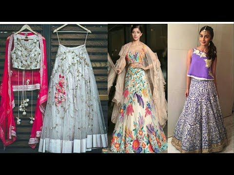 Best Party Wear  Designer Lehenga Designs| Indian Bridal |Wedding Lehenga | 2018-2019|Trendy India-8