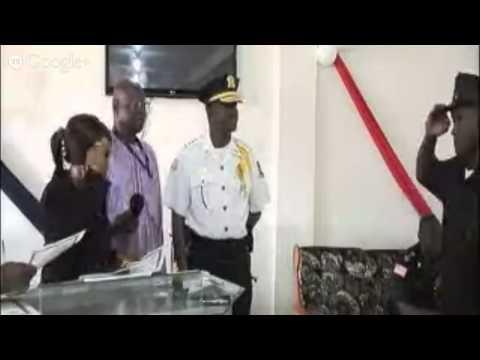 Liberia National Police Training Academy Graduation Ceremony -Special Corps Class I ....