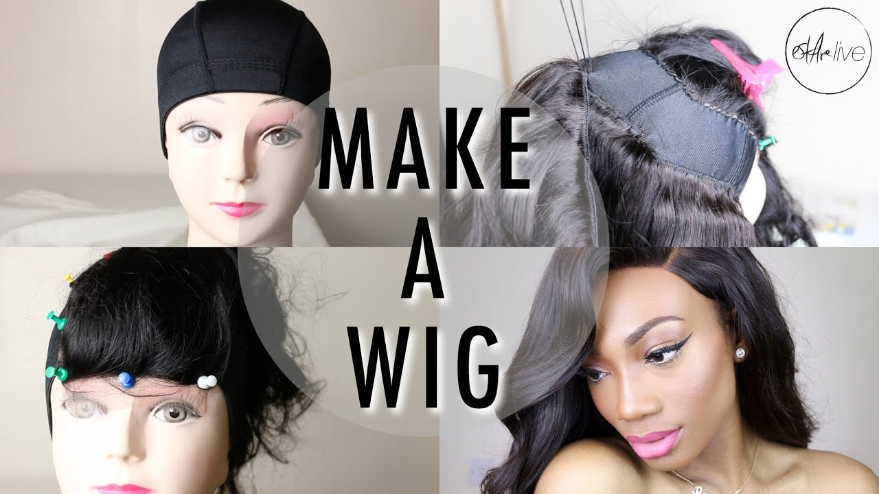 How To Make A Wig Step By Step Tutorial Sewing A Lace Closure