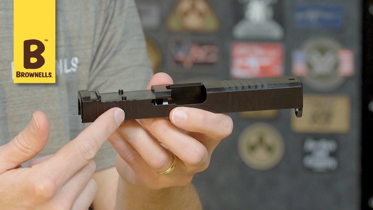 Brownells Front Cut Slide for Glock 43