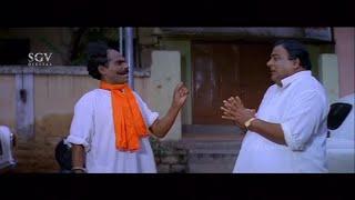 Doddanna scared of Biradar | Sadhu Kokila | Kannada Comedy Scenes | Ganesha Banda Yenen Thanda