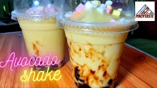 Avocado Shake with Black Pearl! | Pinoy Taste