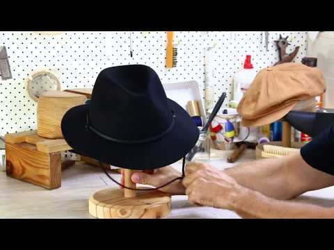 Jacaru Hats Poet Wool Fedora Hat Review - Hats By The 100