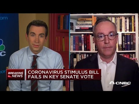 Coronavirus Update: Relief Bill Stalls After Failing Key Senate Vote