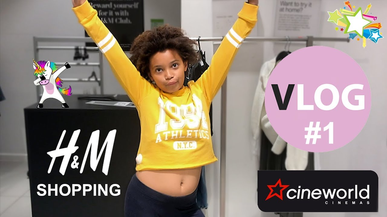 Daily Vlog #1 | H&M Shopping | The Grinch cinema fantasy musical movie | Fantastica