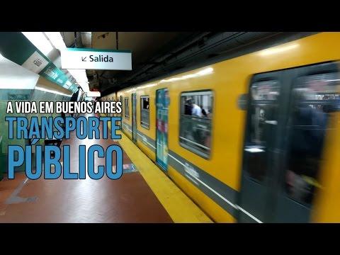 A vida em Buenos Aires: Pegando o Metrô