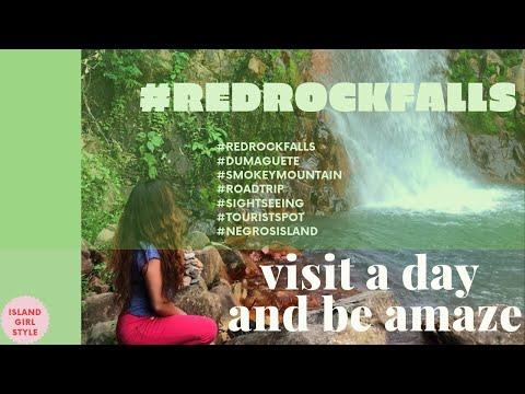 Red Rock Falls   Must Visit   Dumaguete Philippines 2019