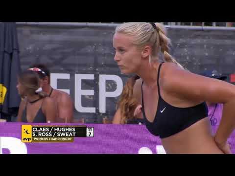 AVP Gold Series // The Championships 2017 Women's Final: Claes/Hughes vs Ross/Sweat