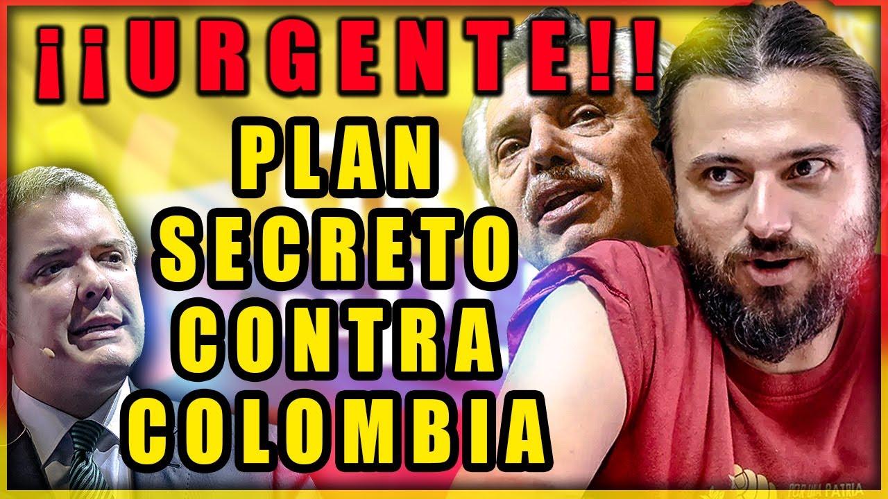 🟥 INSÓLITO ⚡ Gobierno Argentino y Grupo de Puebla Se Infiltran en Colombia para Sacar a Duque