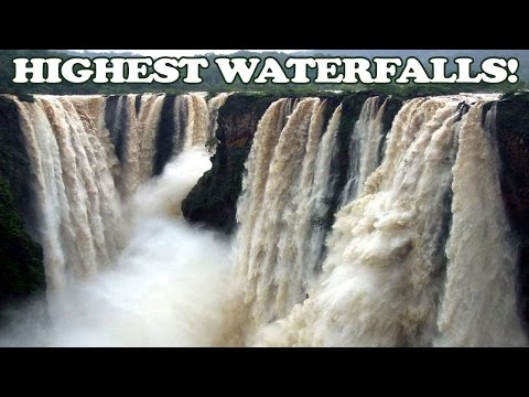 10 Highest And The Most Beautiful Waterfalls Of India - Tens Of India