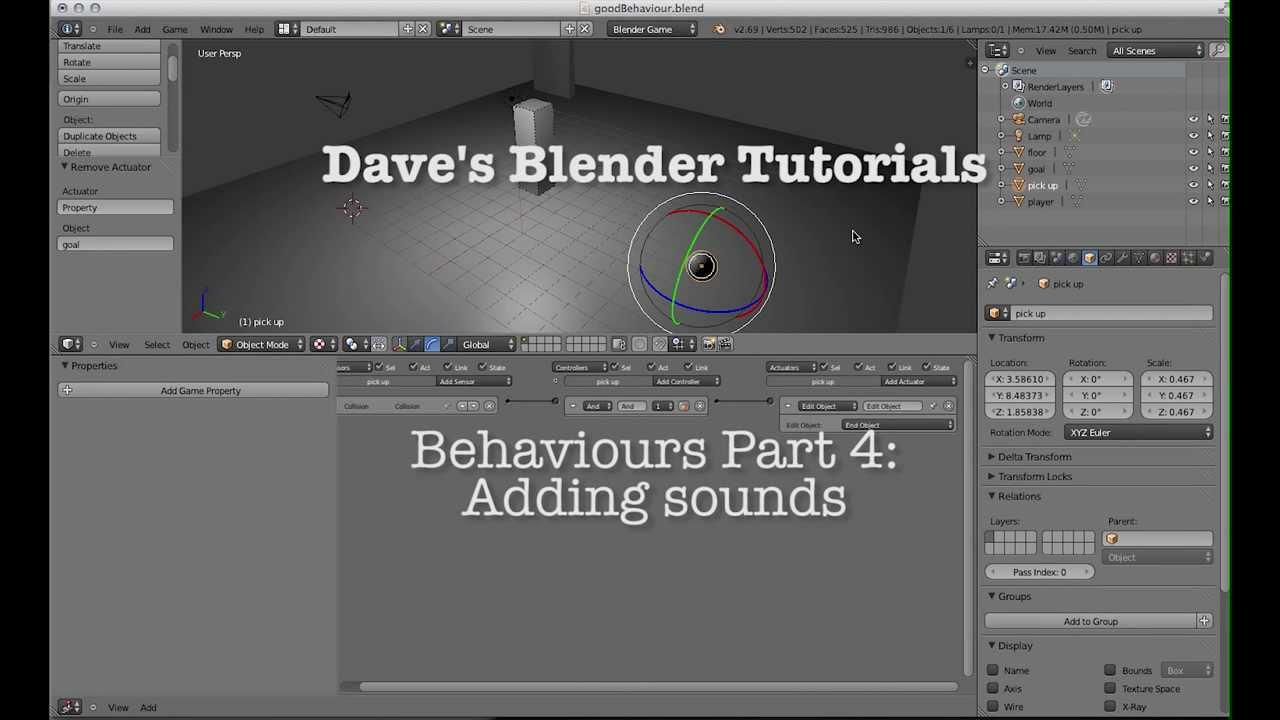 Blender Game Engine: Beginner's Guide: Victor Kuller ...