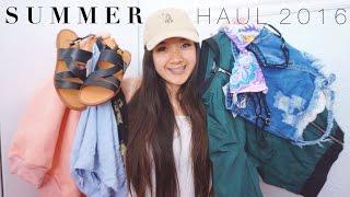 Summer Clothing Haul 2016