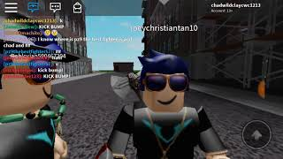 Pretending to be Chadwildclay in Roblox