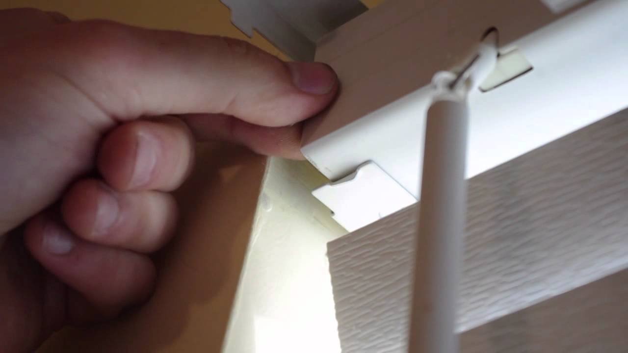 How To Adjust / Repair Window Blinds - YouTube