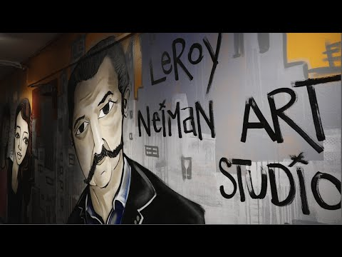 LeRoy Neiman Art Studio at Union Settlement East Harlem buil