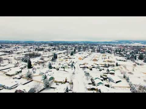 Veradale Winter - Spokane Valley, WA (DJI Phantom 3 Professional)