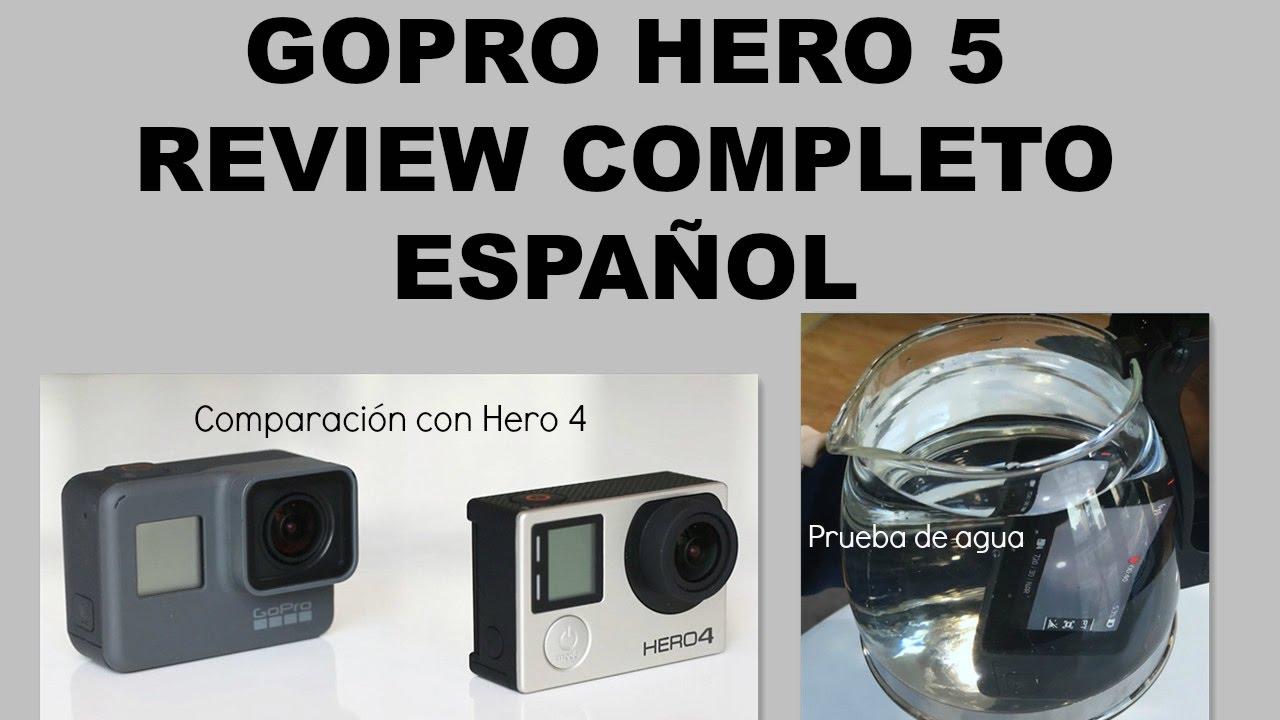 Review Completo de Gopro Hero 5: control de voz/prueba de agua ...