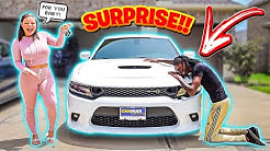 SURPRISING MY BOYFRIEND WITH HIS DREAM CAR!! *HE CRIES*
