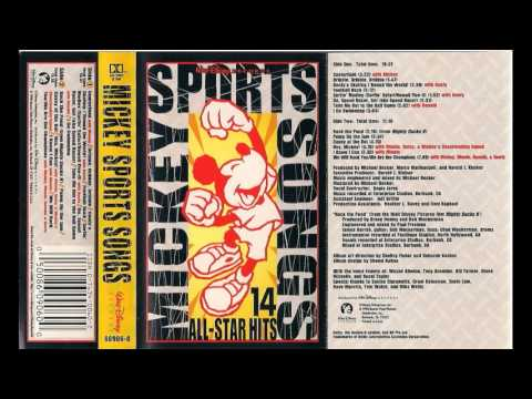 Mickey Mouse Sports Songs Cassette Tape