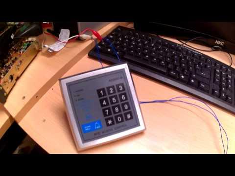 Fingerprinter t r ffner fingerabdruck u rfid karten zutrittskontroller secukey tubehorst1 for Sicherheitsschloss knacken