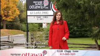 Ottawa Mortgage Broker Lisa Theriault in AChannel Live Where You Live commercial