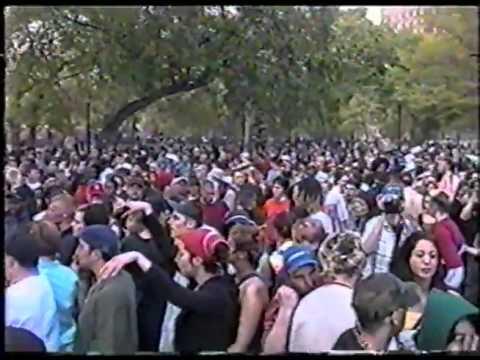 Tompkins Square Park Rave Lenny Dee 1999