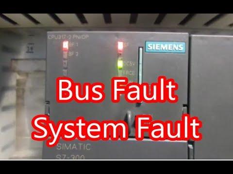 Case study Bus fault in Simatic PLC S7-300