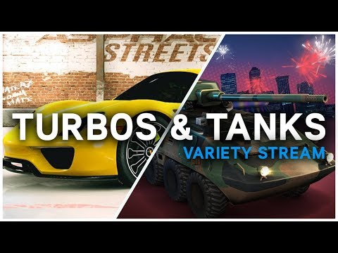 Turbos & Tanks – Asphalt Street Storm and Gangstar New Orleans Variety Stream