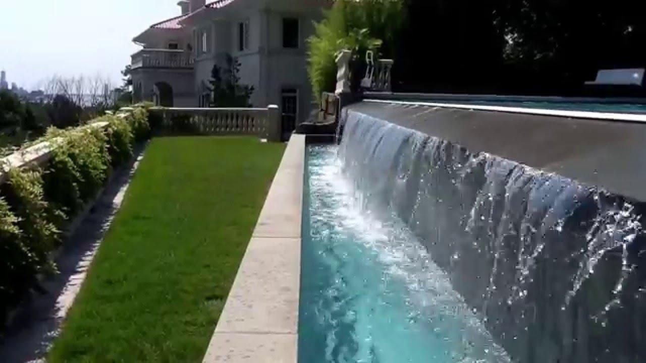 Infinity edge pool steve griggs design YouTube