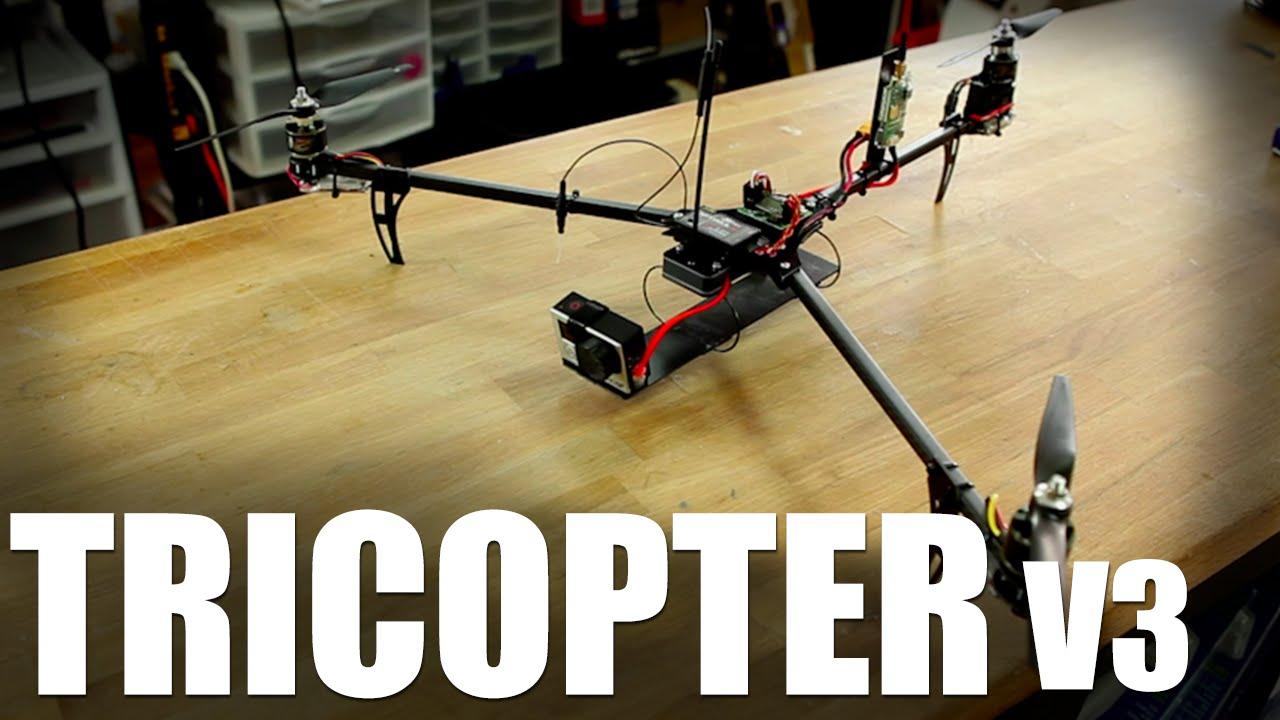 Flite Test | Tricopter V3 - YouTube