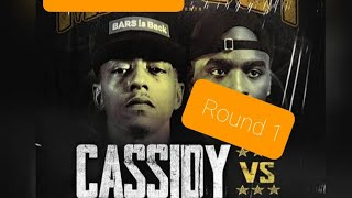 Cassidy vs Hitman Holla| Bar For Bar| Round 1