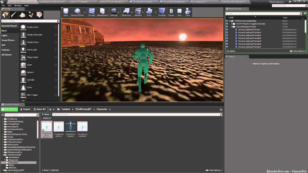 Unreal engine 4 quicktip adding footsteps and other audio without unreal engine 4 quicktip adding footsteps and other audio without blueprints malvernweather Image collections