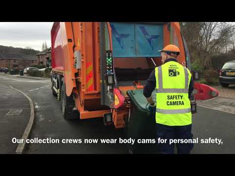 Safety Around Our Bin Collection Vehicles