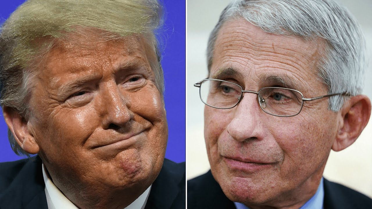 Donald Trump calls Dr Fauci a 'disaster' on day of repeated attacks on his senior Covid-19