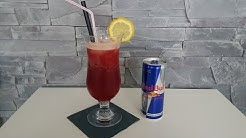Cherry Bull Cocktail - alkoholfreier Red Bull Cocktail mit Kirschsaft