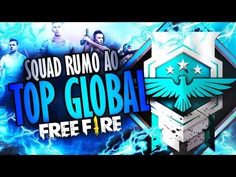 [🔴 LIVE] FREE FIRE ~ SQUAD RUMO AO TOP GLOBAL #SQUADMESTRE