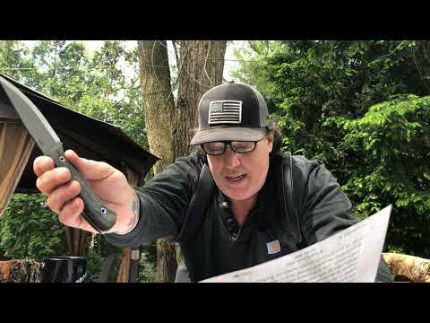 CONDOR RIPPER KNIFE Review ( PLAN A little brother ) Shout Out to Arthur Gunn * Congratulations *