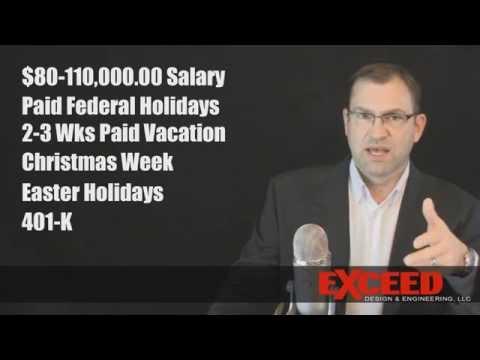 Hiring: Mechanical Engineer $80,000-$110,000 Plastic Parts