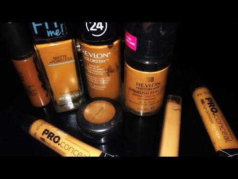 BEST Affordable Foundations & Concealers For Women of Color | Olive to Dark Brown Skin