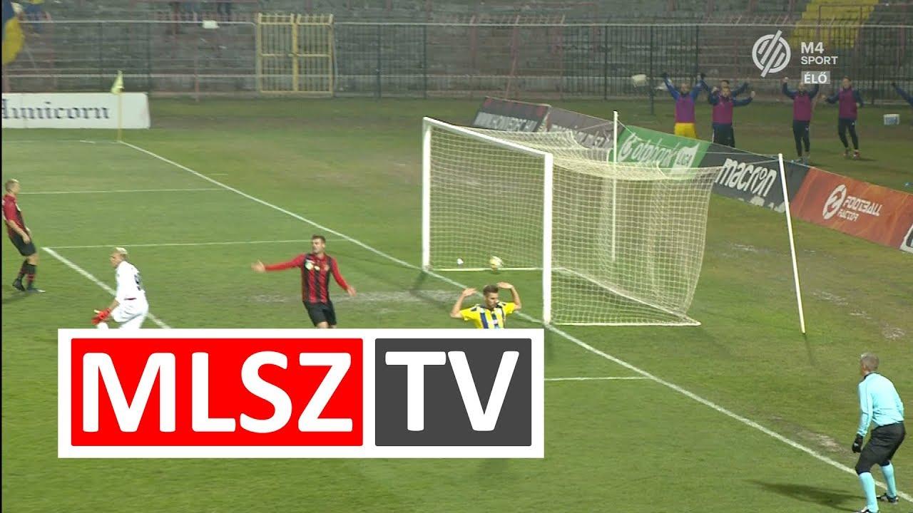 Koszta Márk gólja a Budapest Honvéd - Mezőkövesd Zsóry FC mérkőzésen