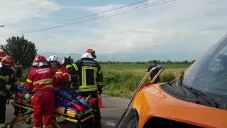 Accident cu 8 victime