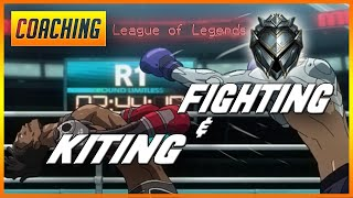 Silver 4 ADC Coaching   Fighting + Kiting ft. FiNessN