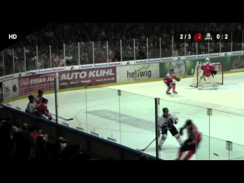 EC Bad Nauheim - Löwen Frankfurt 3:4 n.V. (0:2, 1:0, 2:1, 0:1)