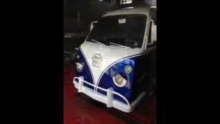 vw micro bus replica damas  showkingcar kustom